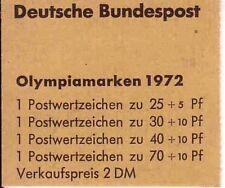 Bund MH 17 postfrisch, Olympische Spiele 1972