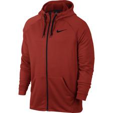 Nike Men's Dry Training Dri-Fit Fleece Full Zip Hoodie Gym Hoody Hooded  Top M