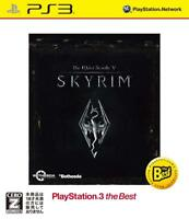 PS3 The Elder Scrolls V: Skyrim the Best PlayStation 3 Japan F/S