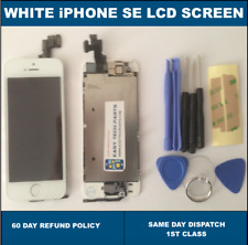 FULL For iPhone SE LCD Digitizer Replacement Screen Genuine OEM White 4 inches