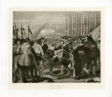 """""""VELASQUEZ : Les Lances"""" Phototypie originale BRAUN CLEMENT & Cie 1890"""
