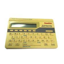 Vintage Electronic Franklin Elementary Spelling Ace Model Es-90 1989