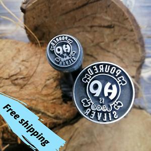 Custom Hard Metal Stamp Jewelry Stamping Punches- Stamp Design Custom Logo Stamp
