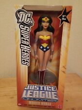 "DC Justice League Unlimited JLU Wonder Woman 10"" / 25cm Figure New"