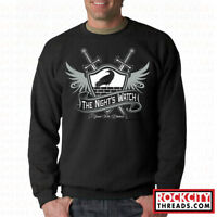 THE NIGHTS WATCH CREW NECK Game of thrones hbo sweatshirt winter crest Stark