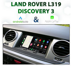 Land Rover Discovery 3 L319 2005-10 Apple CarPlay & Android Auto Integration