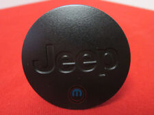 JEEP Jet Black Wheel Center Cap With JEEP Logo NEW OEM MOPAR