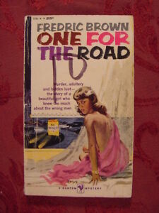 RARE ONE FOR THE ROAD, by FREDRIC BROWN 1ST PRINTING 1959