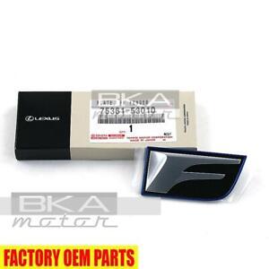 Genuine Lexus 08-14 IS F Front RH Passenger Fender (F) Name Plate 75361-53010
