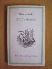 """""""des esprits Devin-dans les papiers du comte de D...."""" de Schiller"""