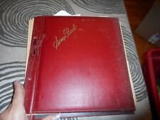 Vintage Scrapbook of Mixed Cards 1940's & 50's