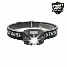Streetwise Weather Proof Smart Light LED Headlamp Rechargeable Built-in Lithium