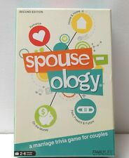 SPOUSE-OLOGY Second Edition Marriage & Couples Trivia Game 2017 BRAND NEW SEALED