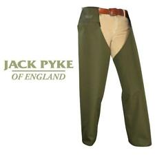 Jack Pyke Lightweight Leggings Protective Over Trousers Chaps Green One Size