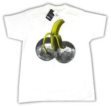 Lady Gaga Disco Heaven Banana Balls White T Shirt XL New Official 2010 NWT