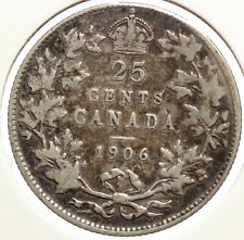 Canada 25 cents 1906