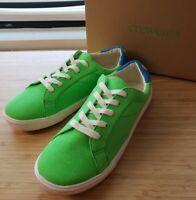 NWB crewcuts Boys Sneakers neon green us boys size 5