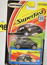 MATCHBOX 2004 35YRS SUPERFAST VOLKSWAGON CONCEPT #48