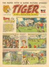 TIGER COMIC COLLECTION ON DVD. 1955-1985 + EXTRAS. 345 ISSUES. UK BRITISH COMICS