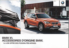 BMW X1 - GRAND CATALOGUE KATALOG CATALOG - ACCESSOIRES D'ORIGINE BMW 21 PAGES