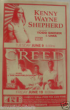 Kenny Wayne Shepherd /Creed /Fuel 2000 San Diego Concert Poster- Hard Rock Music