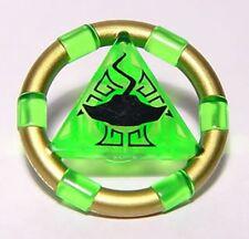 LEGO 7985 Atlantis - Treasure Key w/ Gold Bands and Manta Ray Pattern - Green