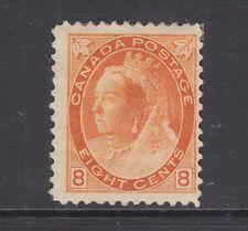 Canada Sc 82 MLH. 1898 8c orange Queen Victoria, Scarce