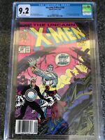 Uncanny X-Men #248 CGC 9.2 NM/MT 1st Jim Lee Art on Uncanny X-Men WP Newsstand