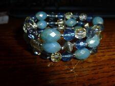 Stretchy Bracelet Light Blue