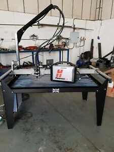CNC PLASMA CUTTER 4X2 ft 1 AVAILABLE TAKES HYPERTHERM-PARWELD-THERMAL DYNAMICS
