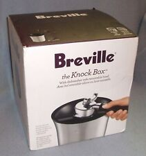 Breville Knock Box, Stainless Steel NEW in Box BCB100 Espresso Maker Accessory