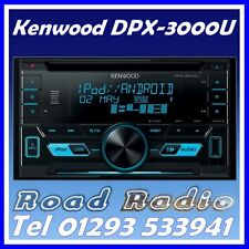 KENWOOD DPX-3000U CD MP3 AUX USB IPOD IPHONE CONTROL DOUBLE DIN CAR STEREO