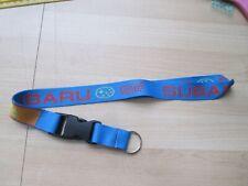 SUBARU STI WRX KEY RING LANYARD NECKLACE BADGE HOLDER CLIP BUY 2 SAVE 25%
