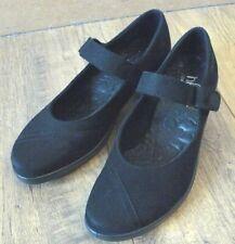 Heißer Schwarz RUNWAY Nubukleder Schuhgröße 3 UK 36 EU NWOT