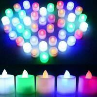 Flammenlose Kerzen LED Batterie Betrieben Elektrische Künstliche Tee Keine O1K1