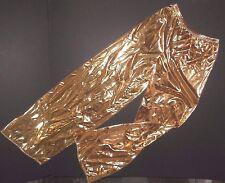 NWOT FOIL Wide Leg Pants Praise Liturgical Ladies sizes Gold or Silver Metallic