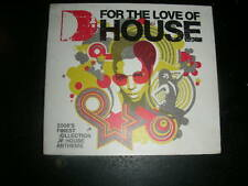 "3 CD Box Defected "" FOR THE LOVE OF HOUSE"" Fish Go Deep Hardsoul Black Eyed Peas"