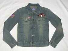 NEU*KHUJO DAMEN JEANS JACKE*WILD BREED*ROCKABILLY*RETRO*GR: S*NEU