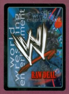 2003 2004 WORLD WRESTLING WWE Raw Deal Trading Card Game SEE LIST