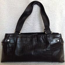 ANNAPELLE Black  Leather Tote/Shoulder Bag / Handbag, Excel Used Condition