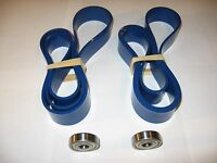 2 BLUE MAX BAND SAW TIRES AND THRUST BEARING SET FOR DELTA 28-195C BAND SAW