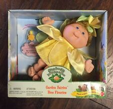 """Rare NEW 1998 Cabbage Patch Kids """"Garden Fairies"""" Daffodil Doll w/Magical Charm"""
