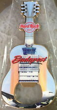 Hard Rock Cafe BUDAPEST AIRPORT GUITAR MAGNET Bottle Opener City ICONS New!
