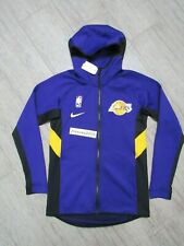 NEW Nike LOS ANGELES LAKERS Therma Flex Showtime Full Zip Jacket Sz Small
