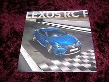 Lexus RC F Brochure 2015