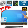 HP Spectre x360 15t 10th Gen Core i7 10510U/ 16GB RAM/ 1TB SSD/ 4K IPS UHD Touch