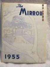 1955 Yearbook Oakland City College IN Great Vintage Photos & Ads With No Writing