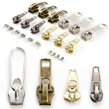 22 Metal Fix A Zipper Zip Sliders Rescue Instants Repair Replacement Bag Tents