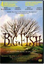 Big Fish Dvd Video Movie Disc 2003 Jessica Lange Tim Burton Ewan McGregor