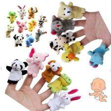 Lot 10 Mini-marionnette à Doigt Peluche 10 Animaux Ferme Jouet Maternelle IDXX
